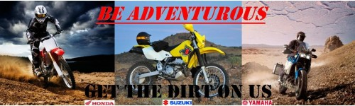 On/Off Road, Dual Purpose, Enduro & Adventure